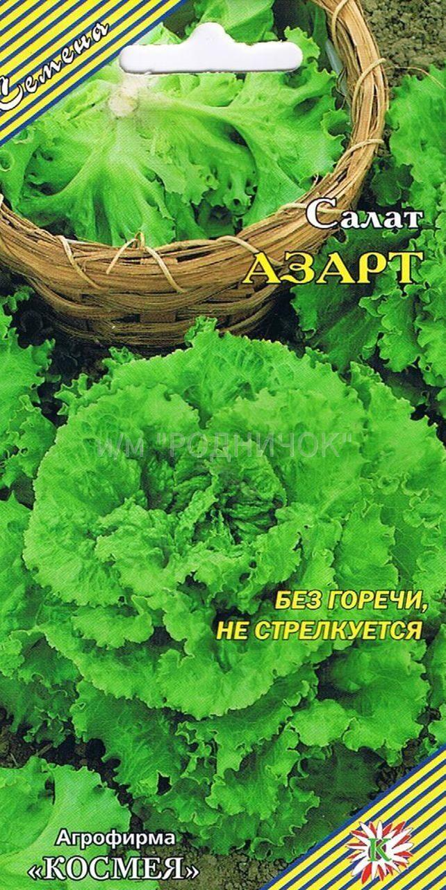 Салат азарт выращивание из семян 51